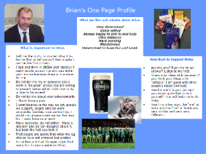 Brian Hutchinson's one-page profile