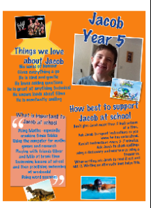 Jacob's one-page profile
