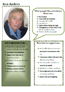 Ken's one-page profile