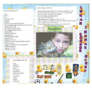 Logan's one-page profile