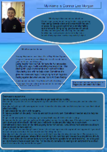 Connor's school one-page profile