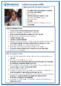 Carlton's one-page profile