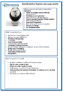 East Berkshire One Page Profile