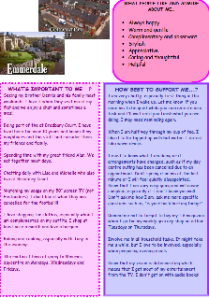 Ellen's one-page profile